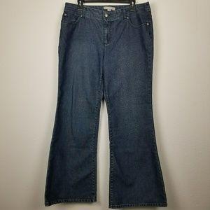 Chico's woman's denim jeans